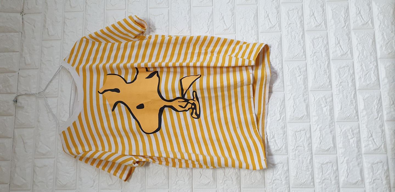 빈티지 줄무늬 티셔츠