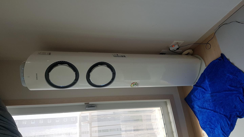 에어컨 청소 벽걸이tv LED시계