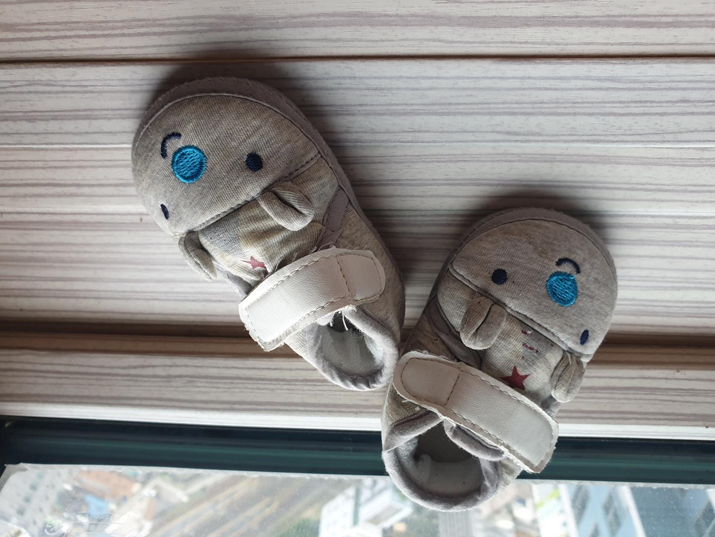 애기 보행기 신발