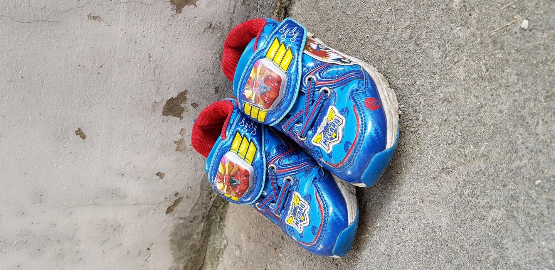 아이 신발 우유와 교환3