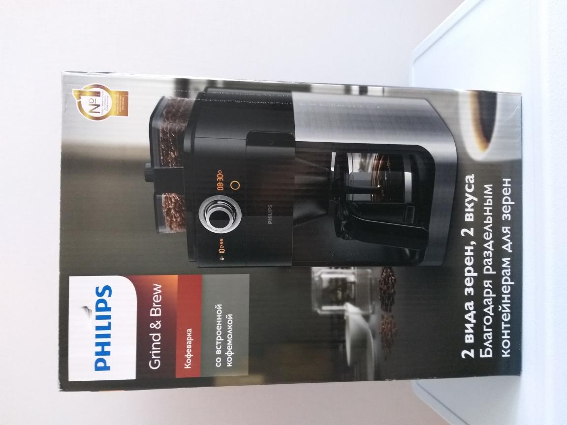 필립스 그라인드 & 커피메이커 HD7762