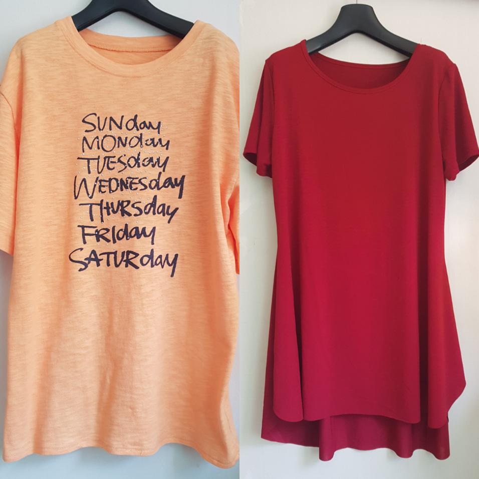 (새상품)원피스&티셔츠 일괄