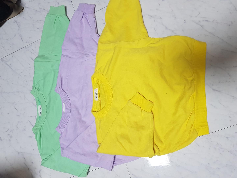 돌아기옷/깨끗한 맨투맨/기요미핏/시보리/등원룩/깔별/환절기옷/봄옷/가을옷/아기옷/유아옷