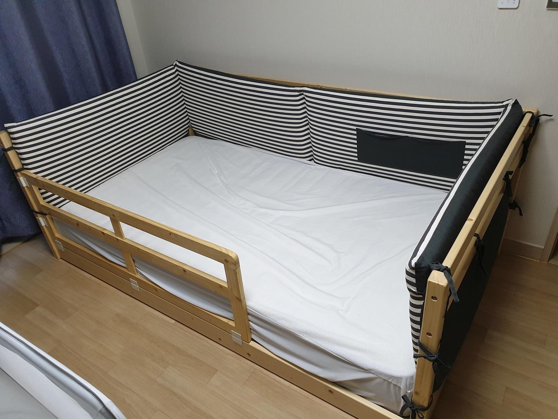 한샘 그루 범퍼 침대 팝니다.