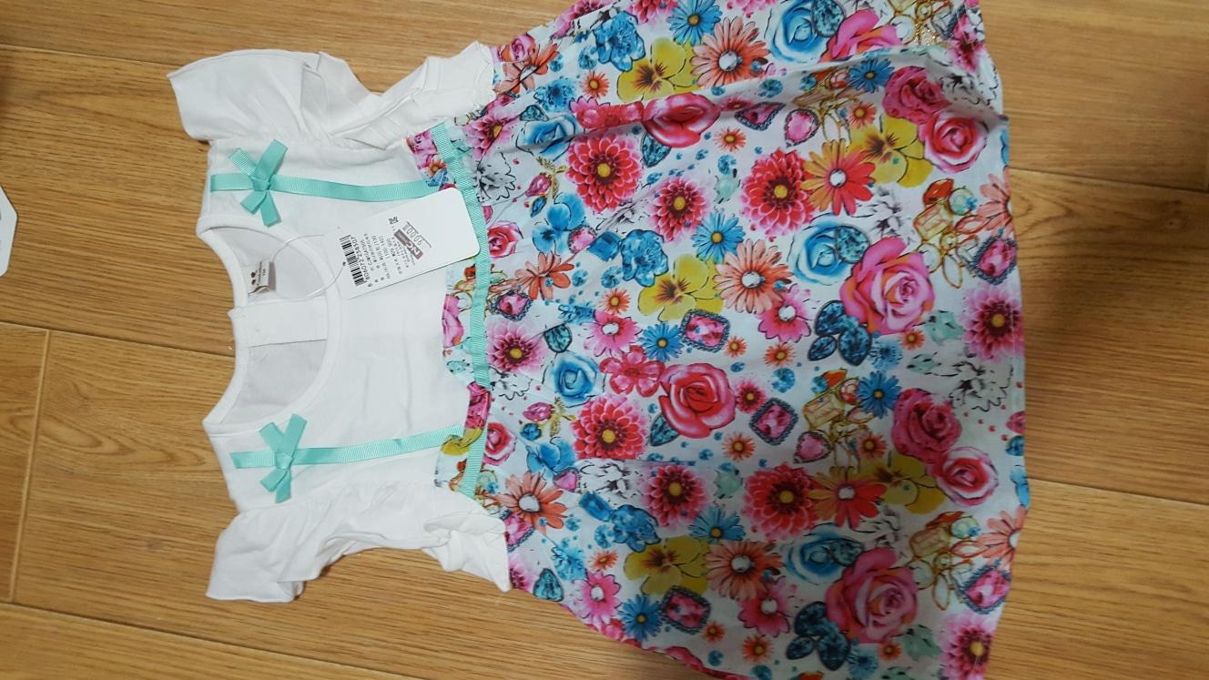 컬리수 롱 티셔츠 새상품(130)