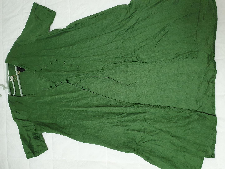 린넨 초록 자켓,가디건