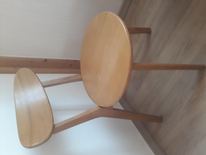 내림원목의자 앉는부분만사용감있어요