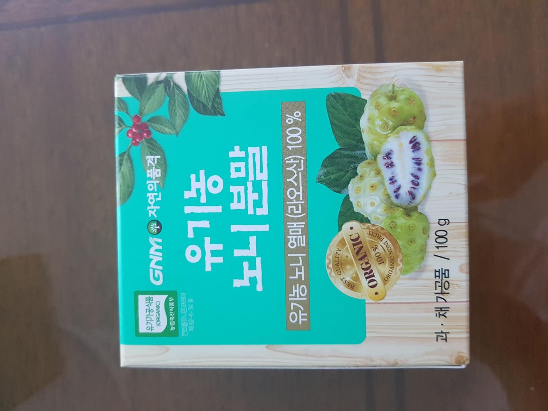 (미개봉)유기농 노니분말 100g