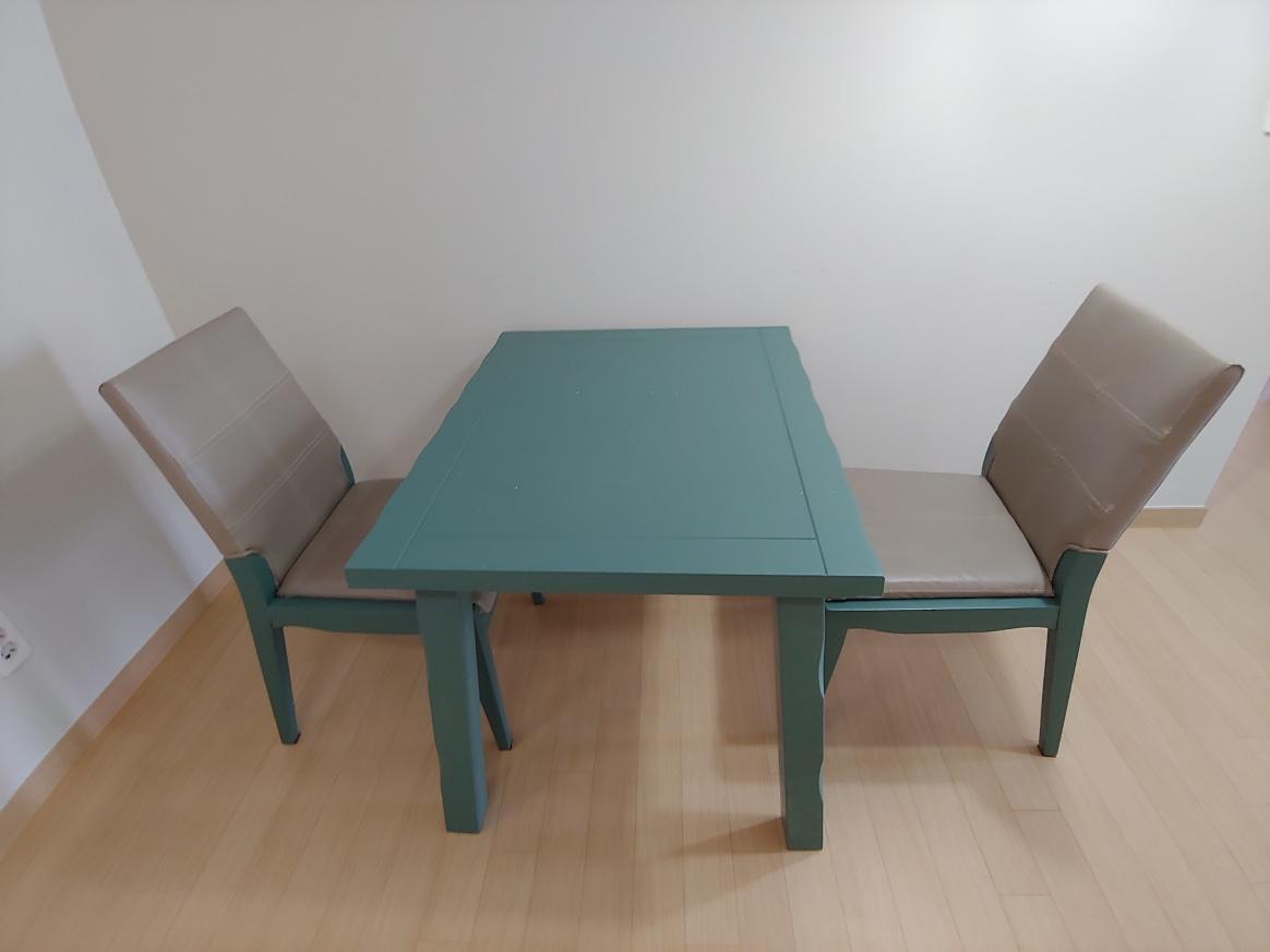 식탁.의자 2인 세트