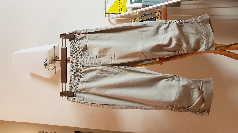 칠보바지 프리사이즈 옷자체 밑단이 요런 스타일 이예요 클릭해서 보셔요