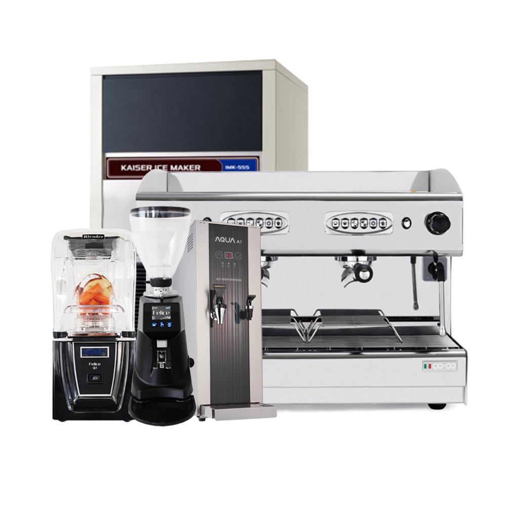 [새상품]최저가패키지/커피머신/블랜더/온수기/그라인더/제빙기