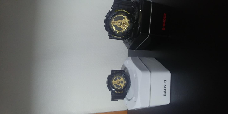 쥐샥 시계/ 베이지쥐샥 커플시계