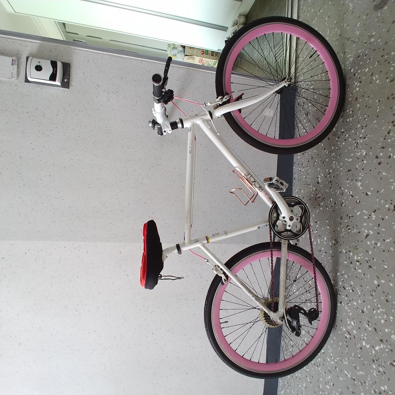 직거래)알톤 RCT R7 자전거 핑크색 하이브리드형 자전거