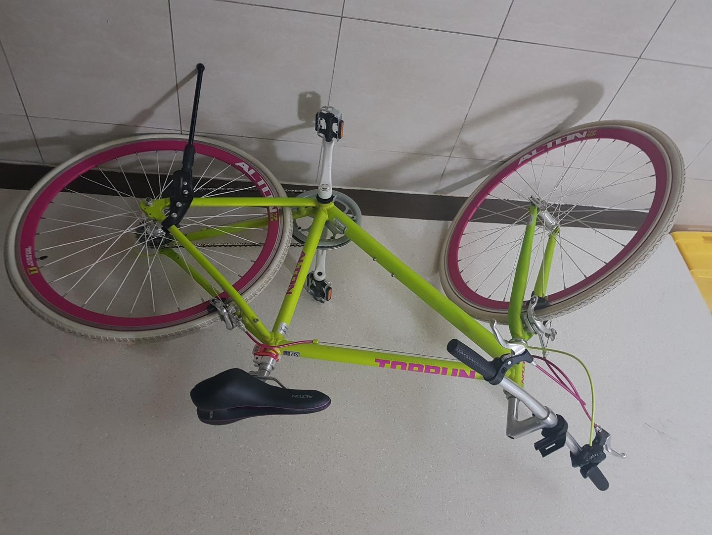 여성 자전거