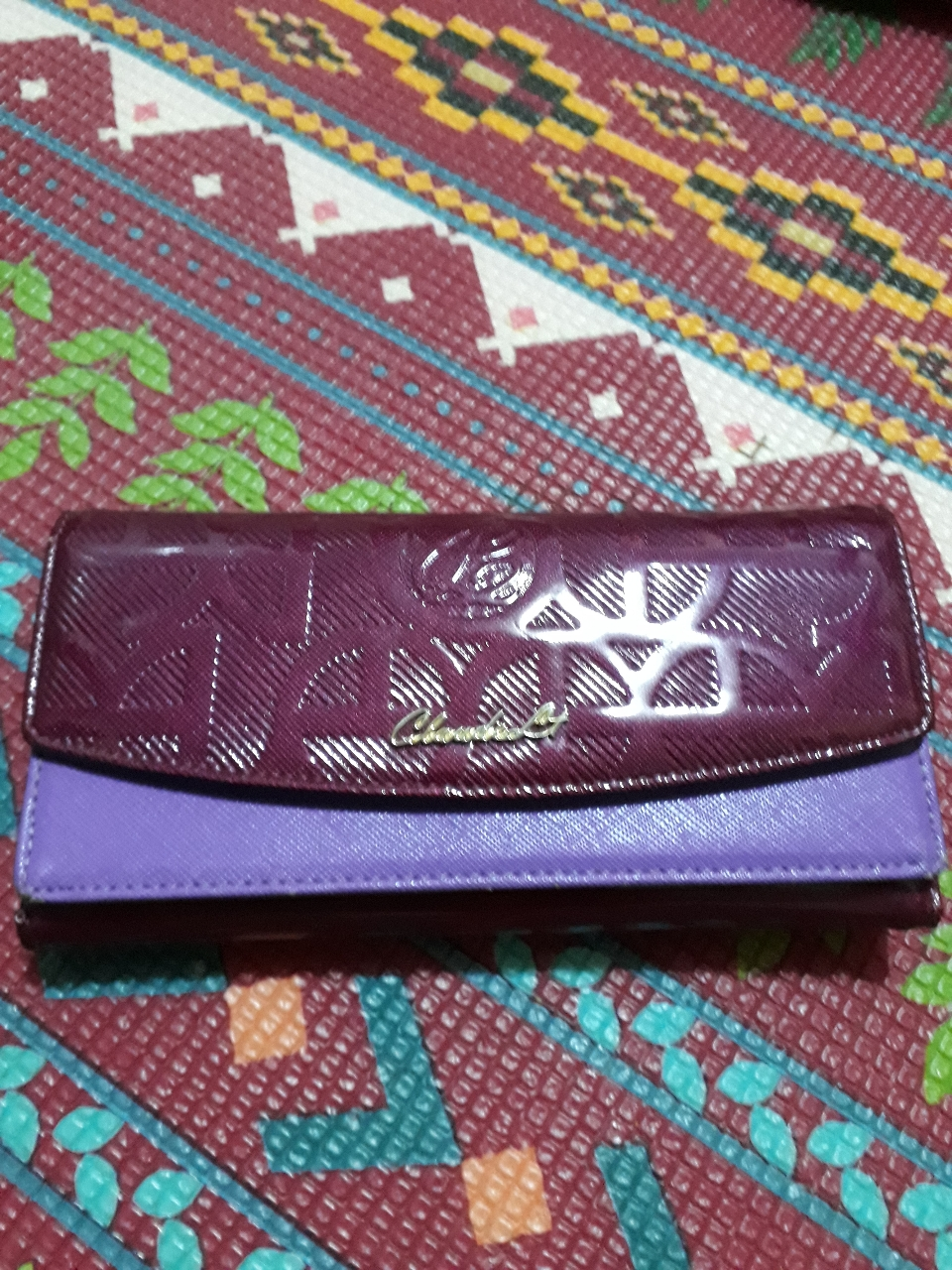 에나멜장지갑