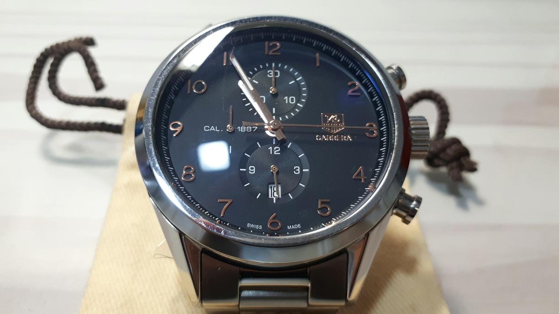 태그호이어 카레라 1887 메탈 쿼츠 시계 팜니다