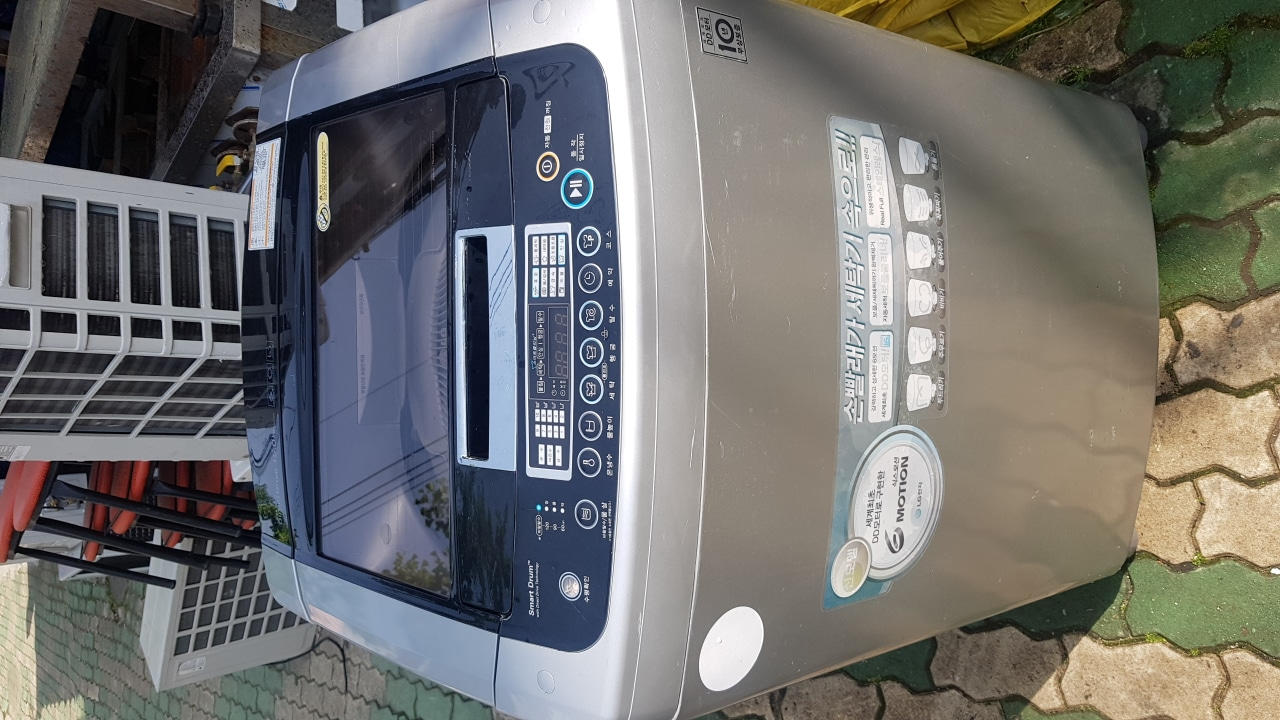 LG 15KG 세탁기
