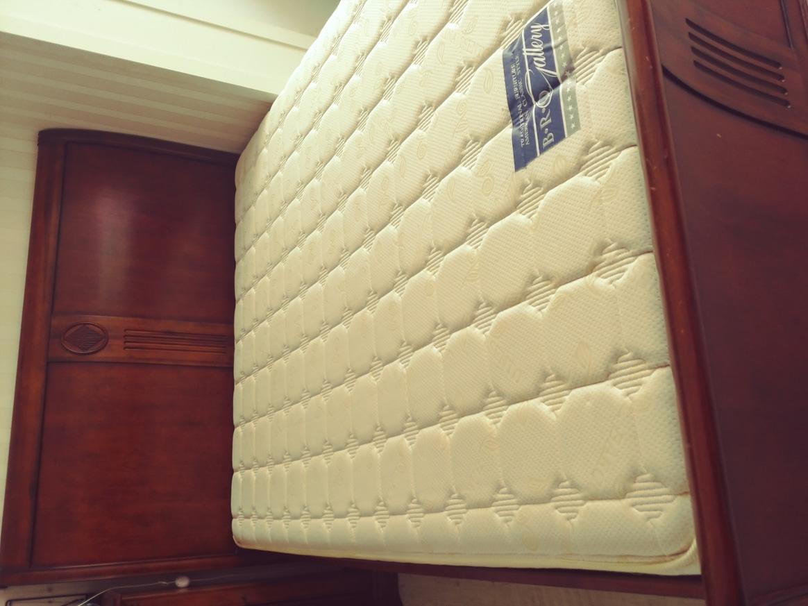 퀸 침대  엔틱