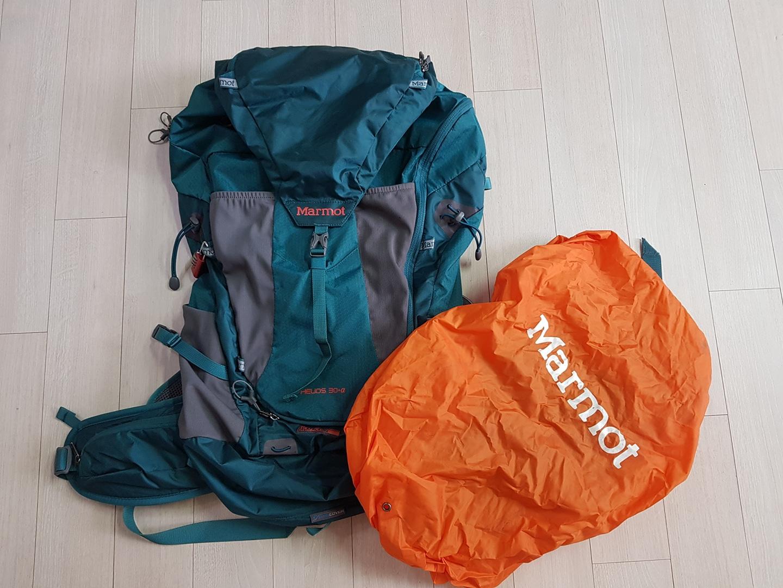 마모트 30L 경량 배낭 가방