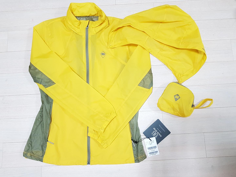 코오롱 매쉬 방풍 자켓 (하절기 90. 새거)