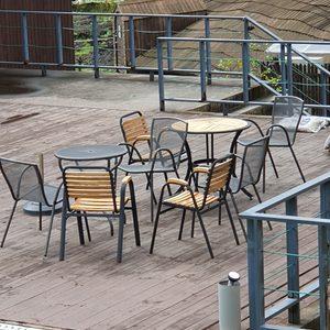 나무 의자, 테이블