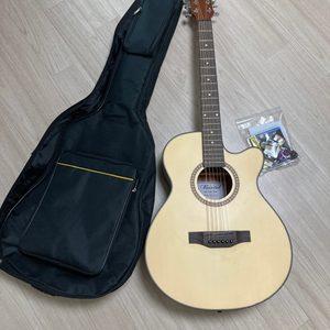 마르텔 통기타 40인치 (풀패키지-기타케이스배낭, 튜닝기, 피크, 기타줄)