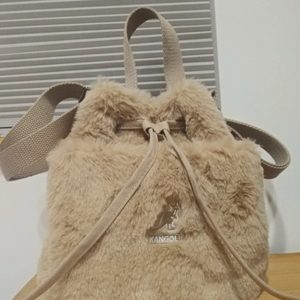 캉골 테디 버킷백 KANGOL Teddy bucket bag
