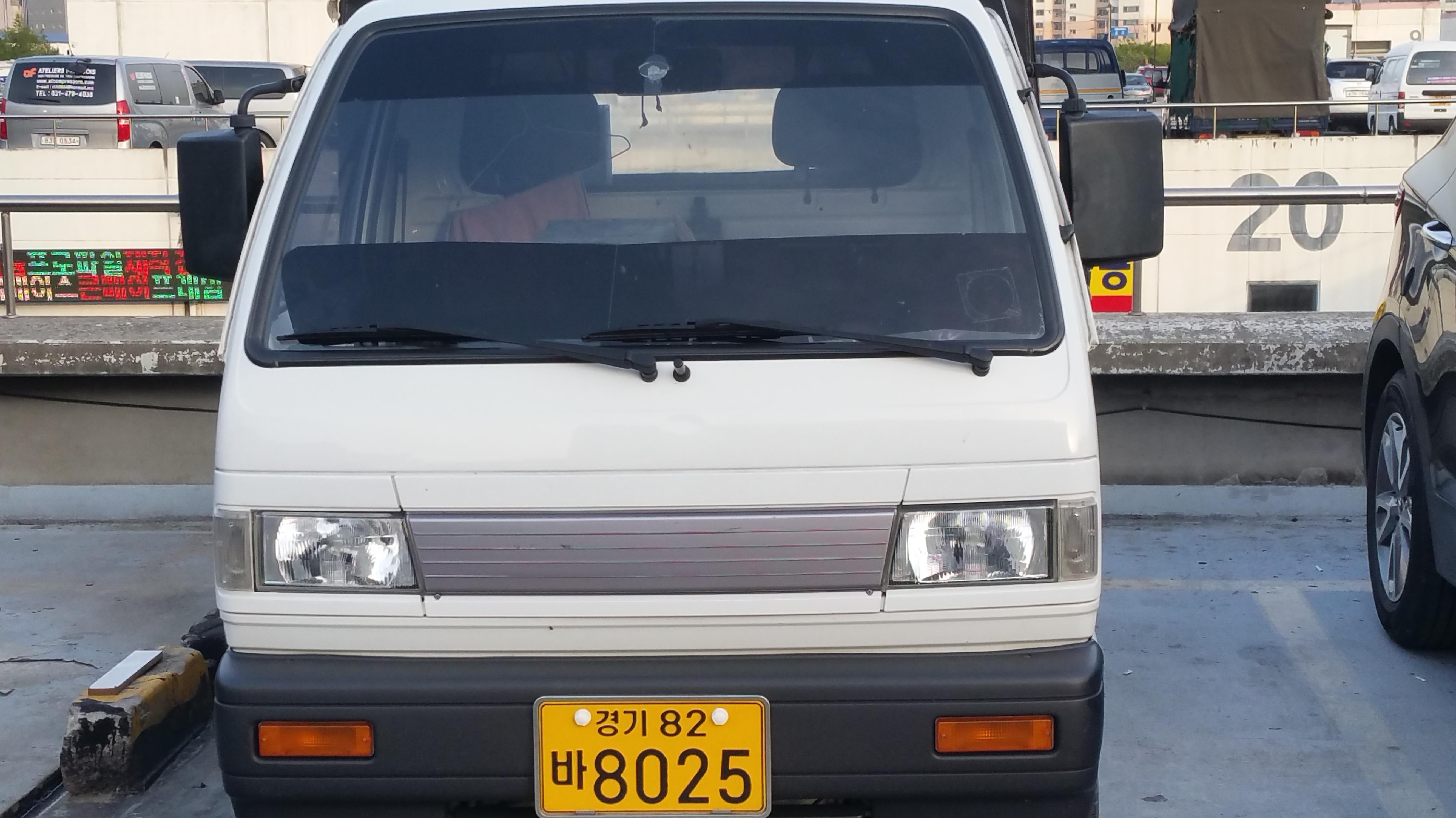 안양 친절한 라보 차량