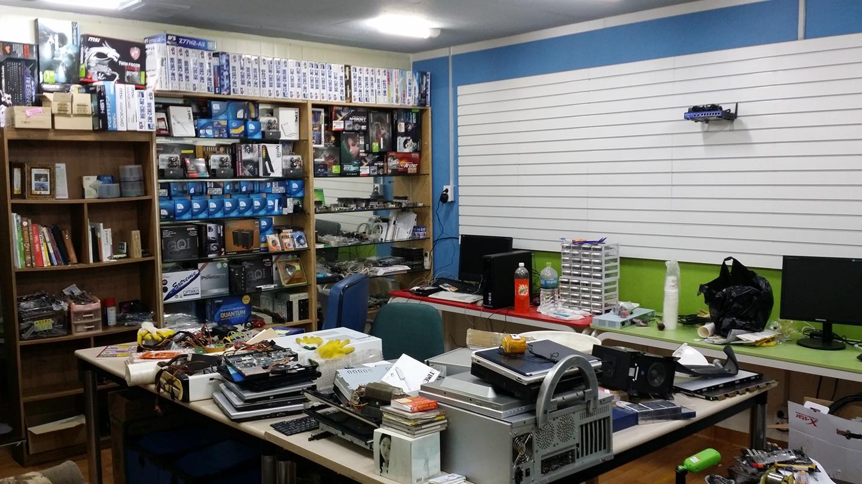 컴퓨터 노트북 모니터 판매 수리 cctv
